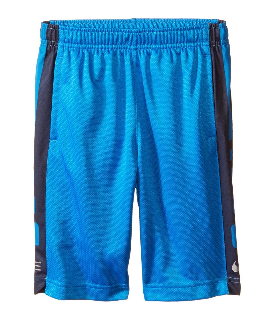Nike Kids - Elite Stripe Shorts (Toddler/Little Kids) (Photo Blue) Boy's Shorts