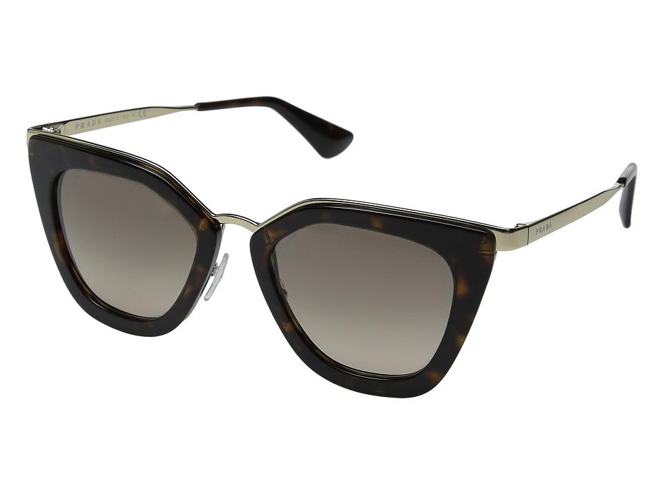 Prada - 0PR 53SS (Havana/Brown Gradient) Fashion Sunglasses
