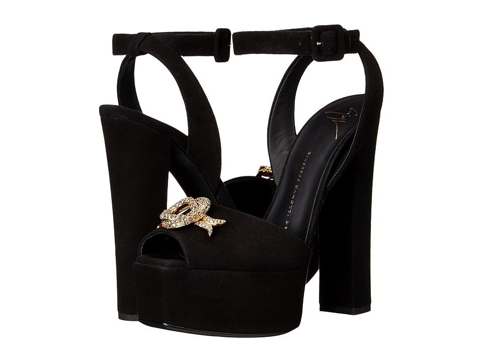 Giuseppe Zanotti I60076 Cam Nero Womens Shoes