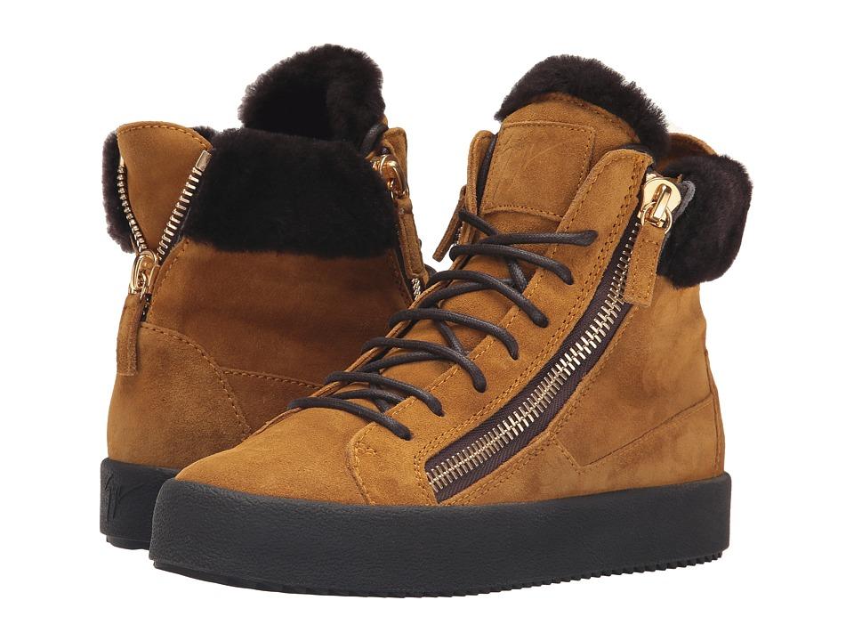 Giuseppe Zanotti - RW6051 (Velour Senape) Women's Shoes