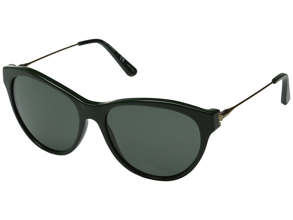 Tory Burch - 0TY7093 (Racing Green/Green Solid) Fashion Sunglasses