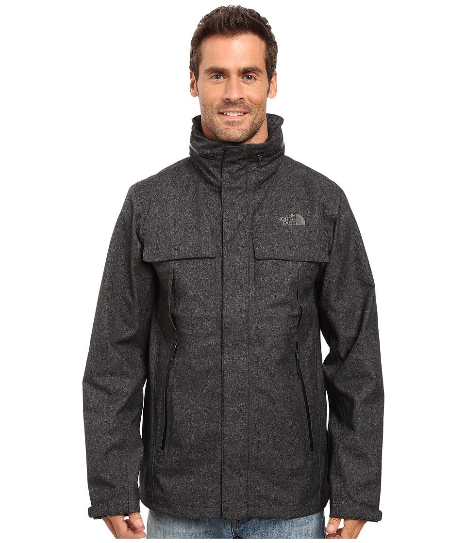 The North Face - Kassler Field Jacket (TNF Black Heather) Men's Coat