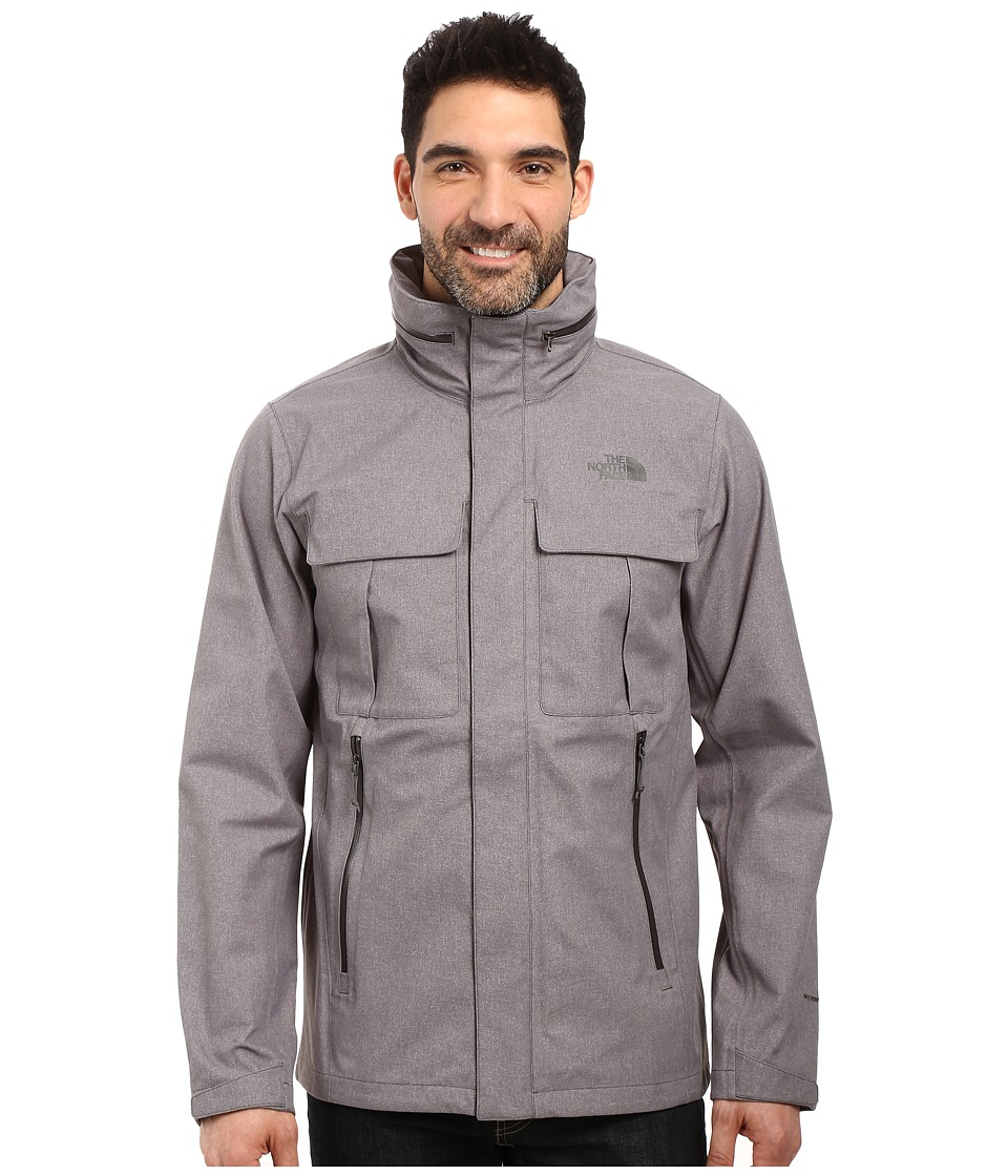 The North Face - Kassler Field Jacket (TNF Medium Grey Heather) Men's Coat