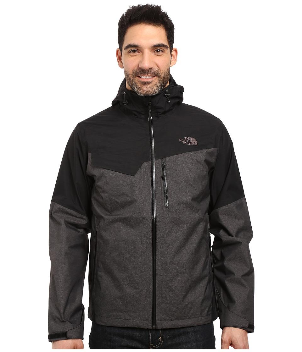The North Face Berenson Jacket (Asphalt Grey Texture/TNF Black) Men