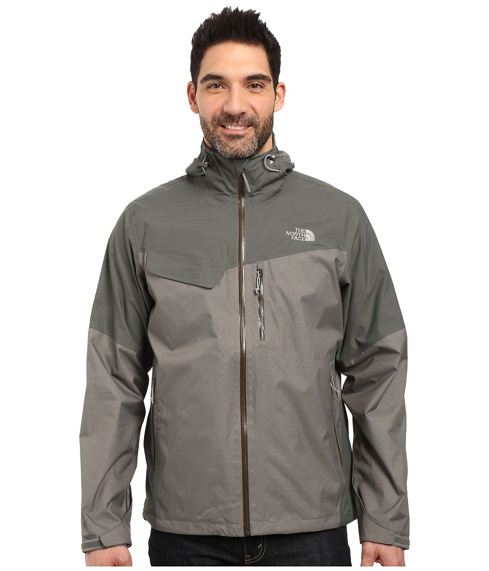 The North Face Berenson Jacket (Fusebox Grey Texture/Fusebox Grey) Men