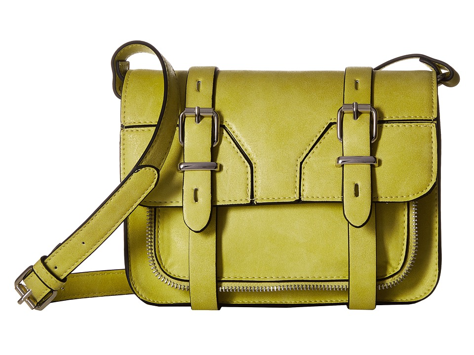 Madden Girl - Mgspotzz Crossbody (Citron) Cross Body Handbags