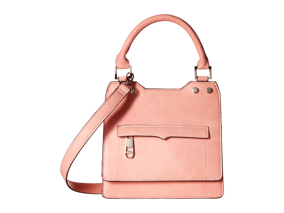 Madden Girl - Mgnite Top-Handle Crossbody (Blush) Top-handle Handbags
