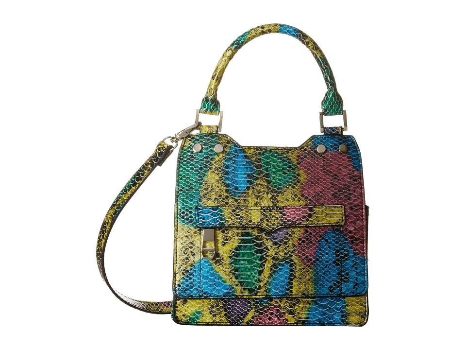 Madden Girl - Mgnite Top-Handle Crossbody (Snake Multi) Top-handle Handbags