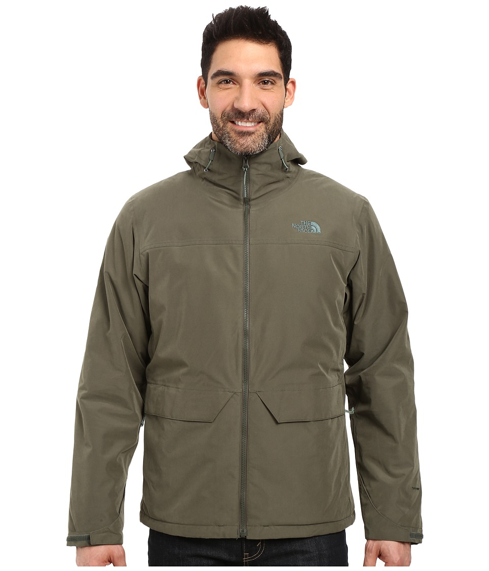 The North Face - Canyonlands Triclimate Jacket (Climbing Ivy Green) Men's Coat