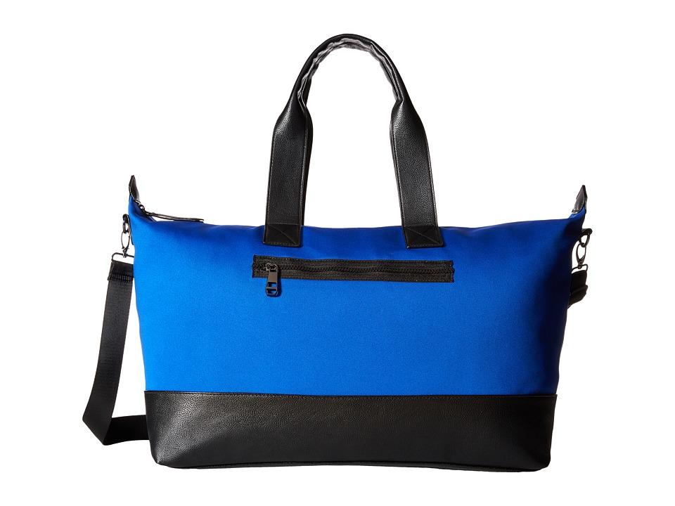 Madden Girl - Mgrogers Neoprene Weekender (Cobalt) Weekender/Overnight Luggage