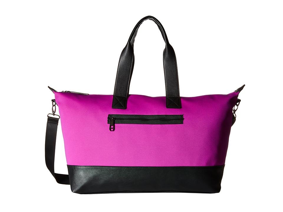 Madden Girl - Mgrogers Neoprene Weekender (Magenta) Weekender/Overnight Luggage