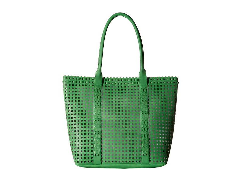 Madden Girl - Mgnavy Perforated Bag In A Bag Tote (Kelly Green) Tote Handbags