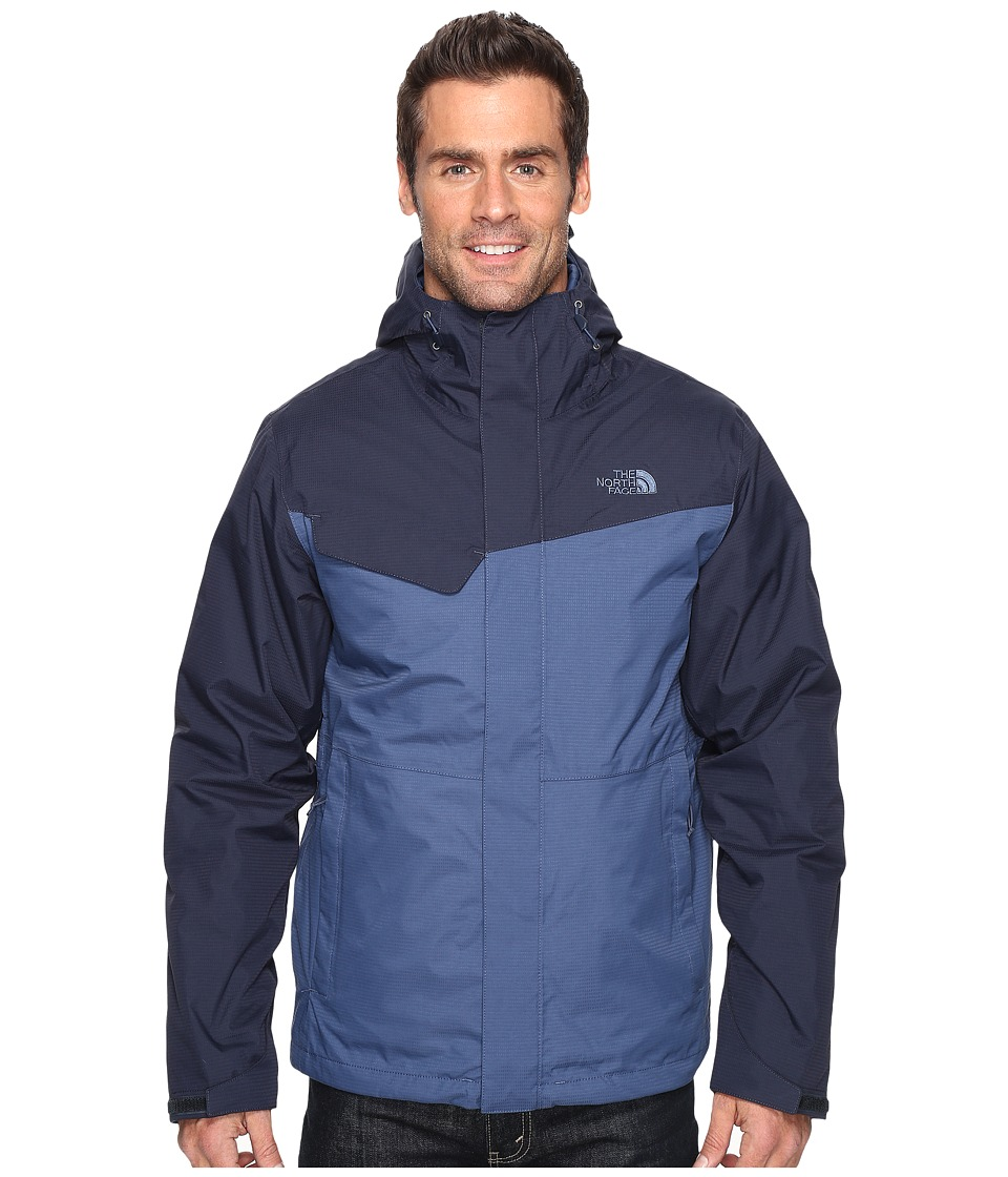 The North Face - Beswick Triclimate Jacket (Shady Blue/Urban Navy) Men's Coat