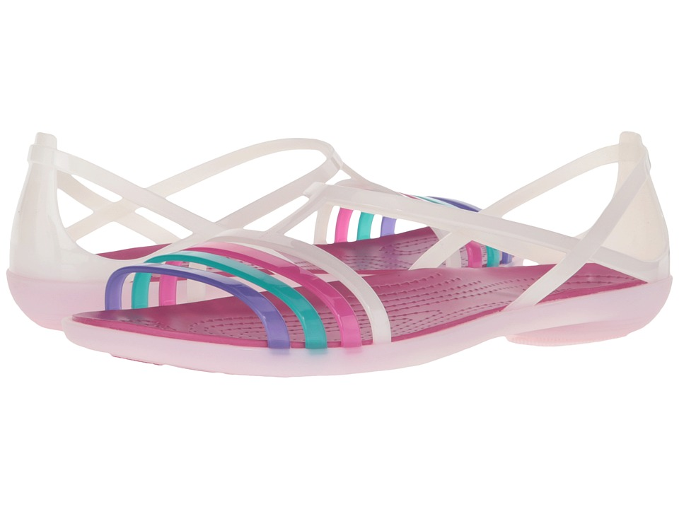Crocs - Isabella Sandal (Berry/Oyster) Women's Sandals
