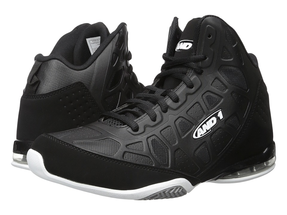 AND1 - Master 3 (Black/White) Men's Basketball Shoes