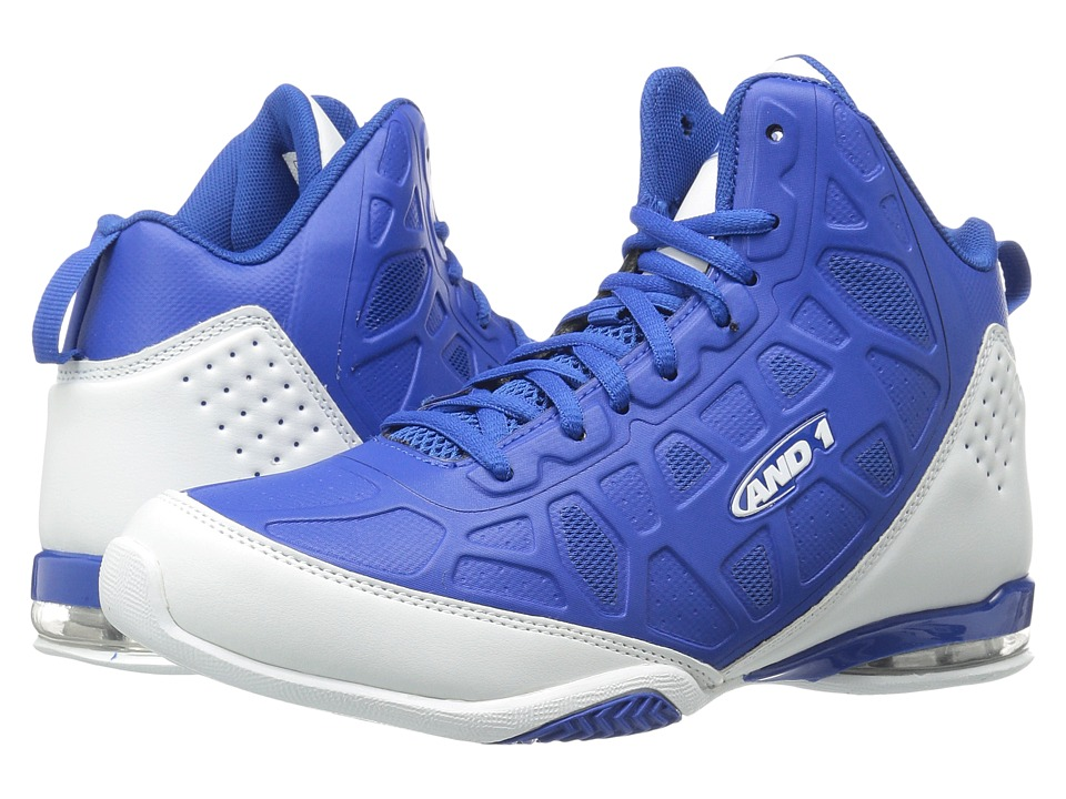 AND1 - Master 3 (Royal/White) Men's Basketball Shoes