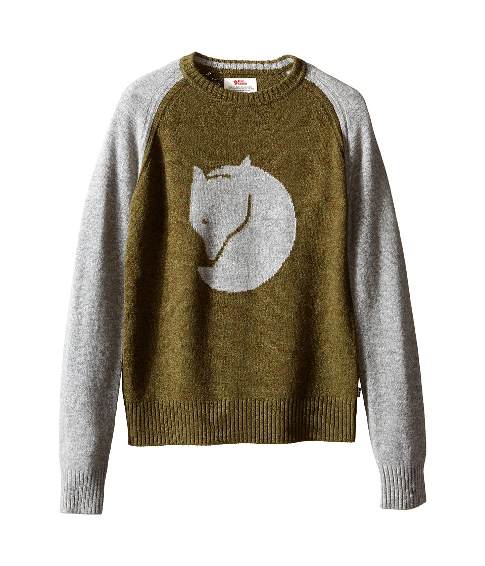 Fjallraven Kids - Kids Fox Sweater (Fog) Kid's Sweater