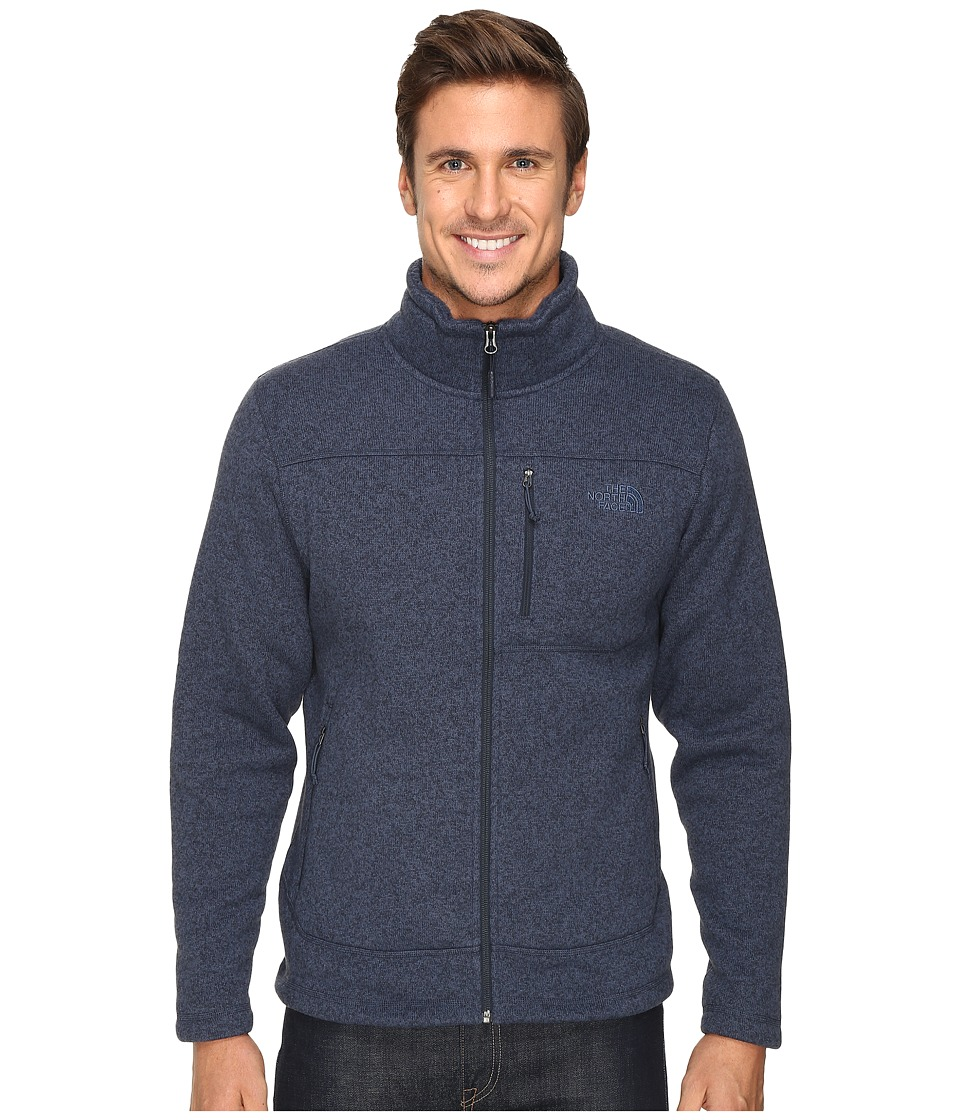 The North Face - Gordon Lyons Full Zip Fleece (Urban Navy Heather) Men's Fleece