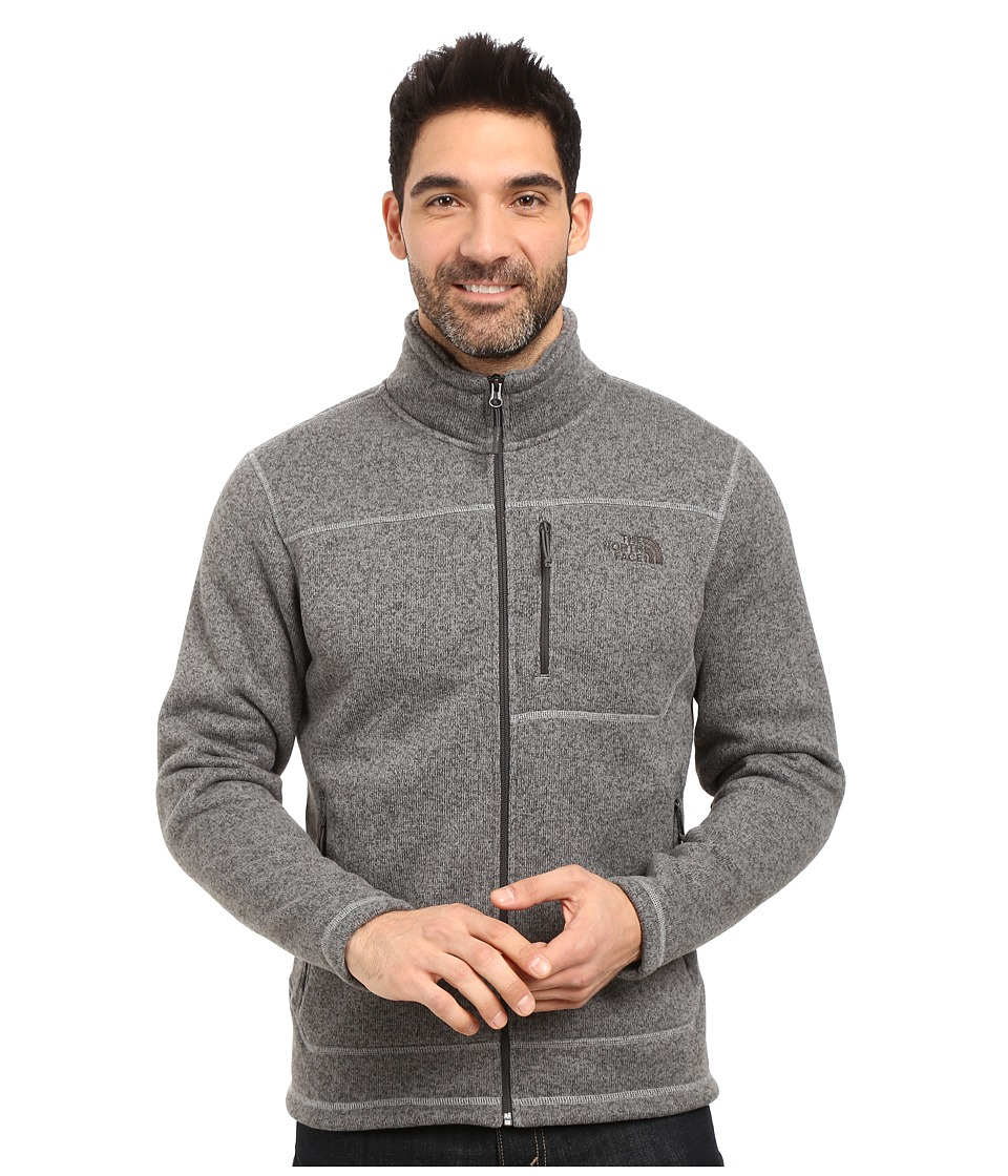 The North Face - Gordon Lyons Full Zip Fleece (TNF Medium Grey Heather (Prior Season)) Men's Fleece