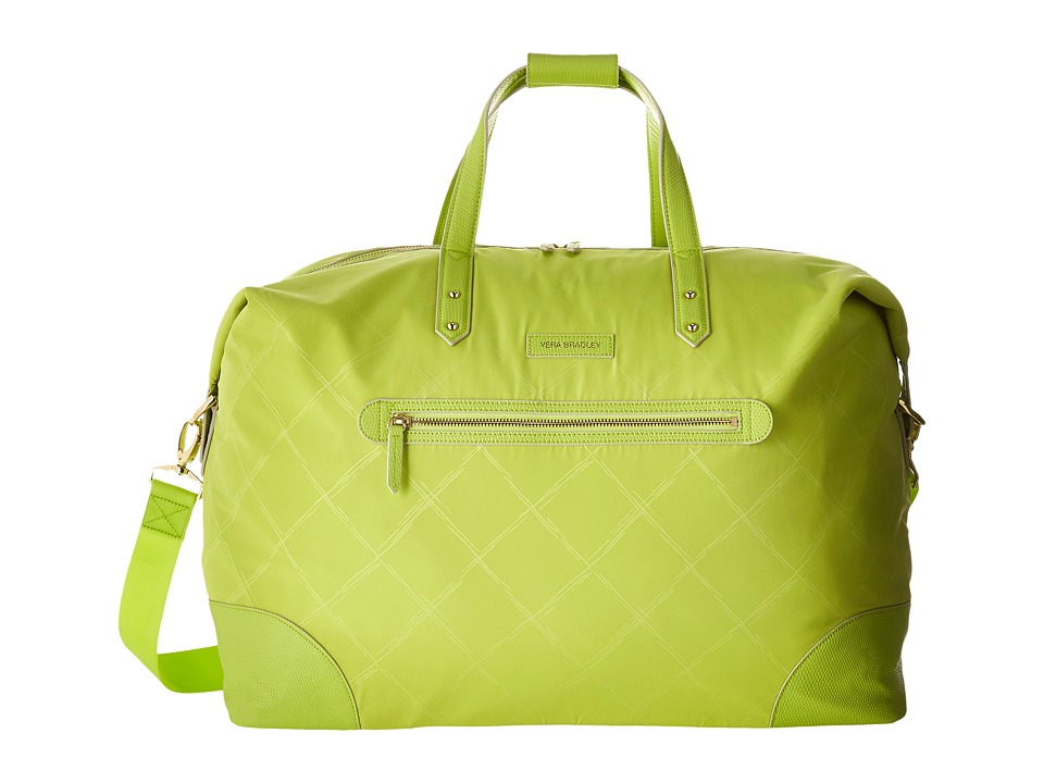Vera Bradley Luggage - Preppy Poly Travel Duffel (Citrine) Duffel Bags