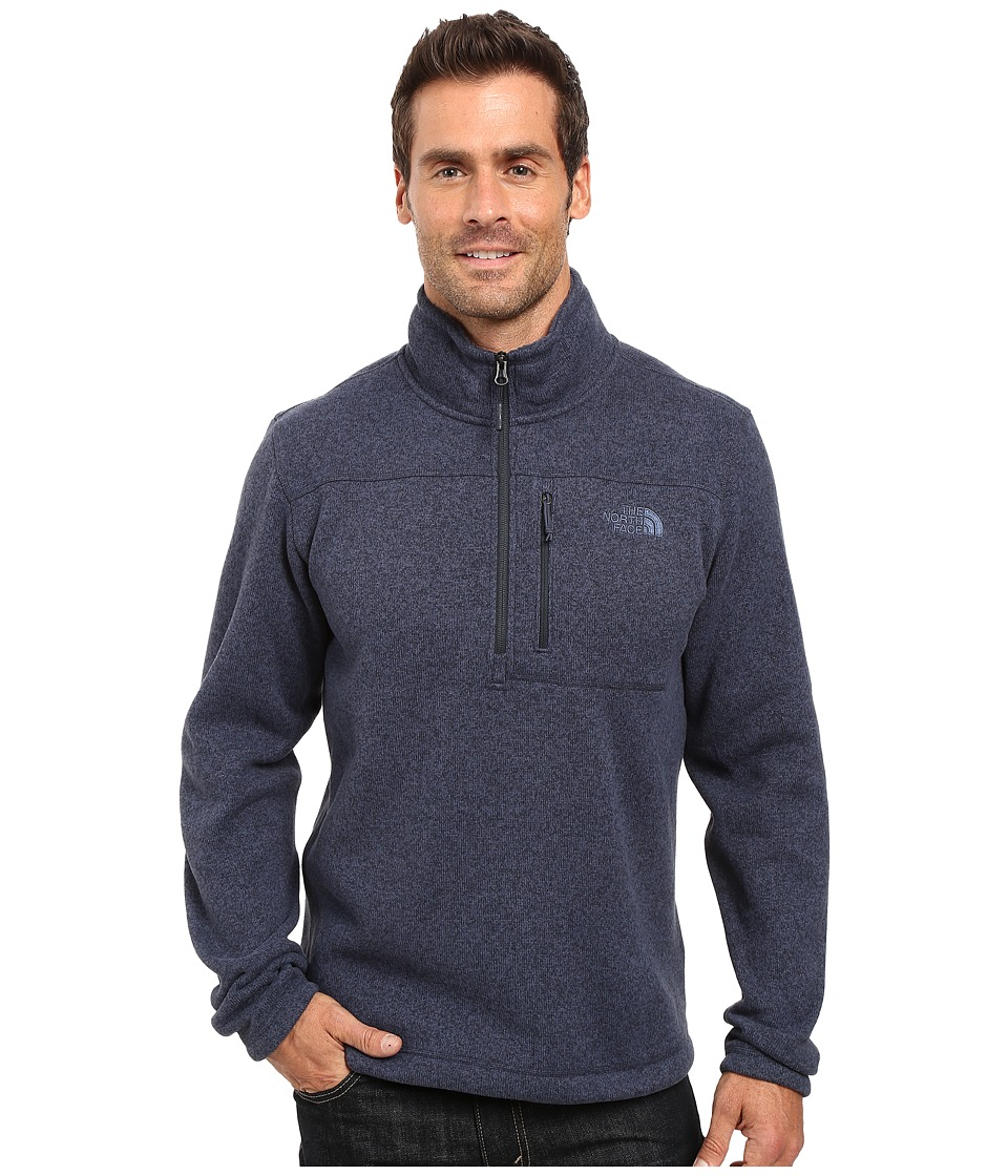 The North Face - Gordon Lyons 1/4 Zip Pullover (Urban Navy Heather) Men's Long Sleeve Pullover