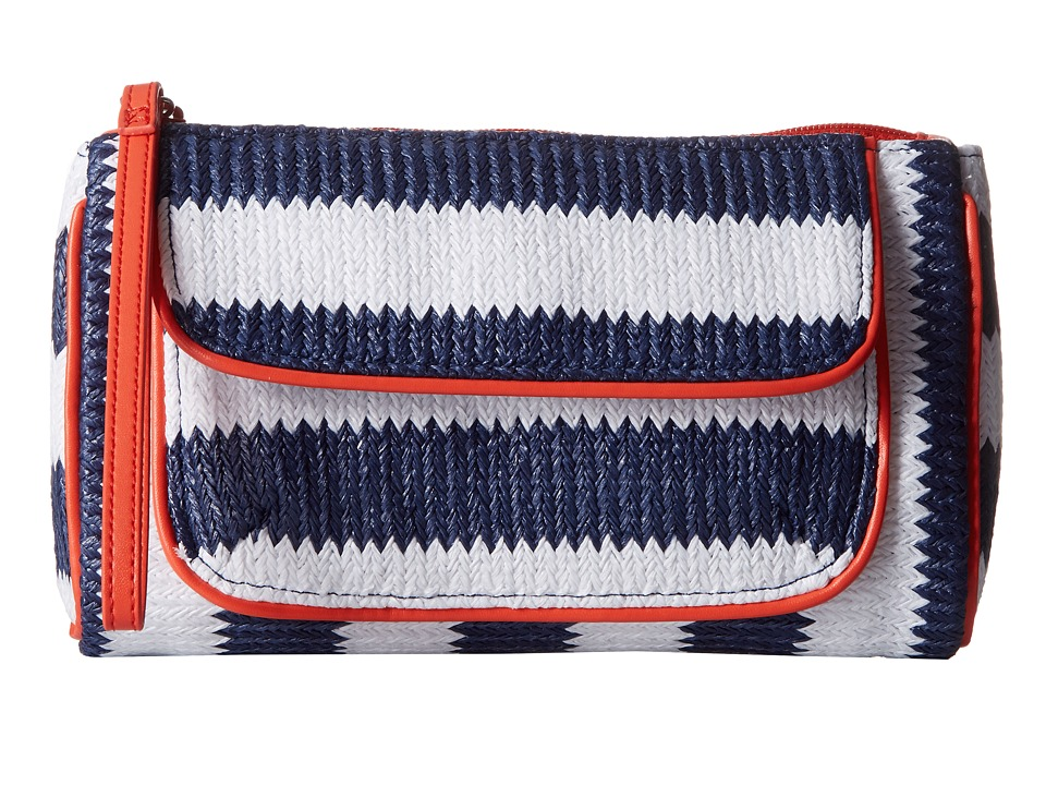 Vera Bradley - Striped Wristlet (Navy Stripe) Wristlet Handbags