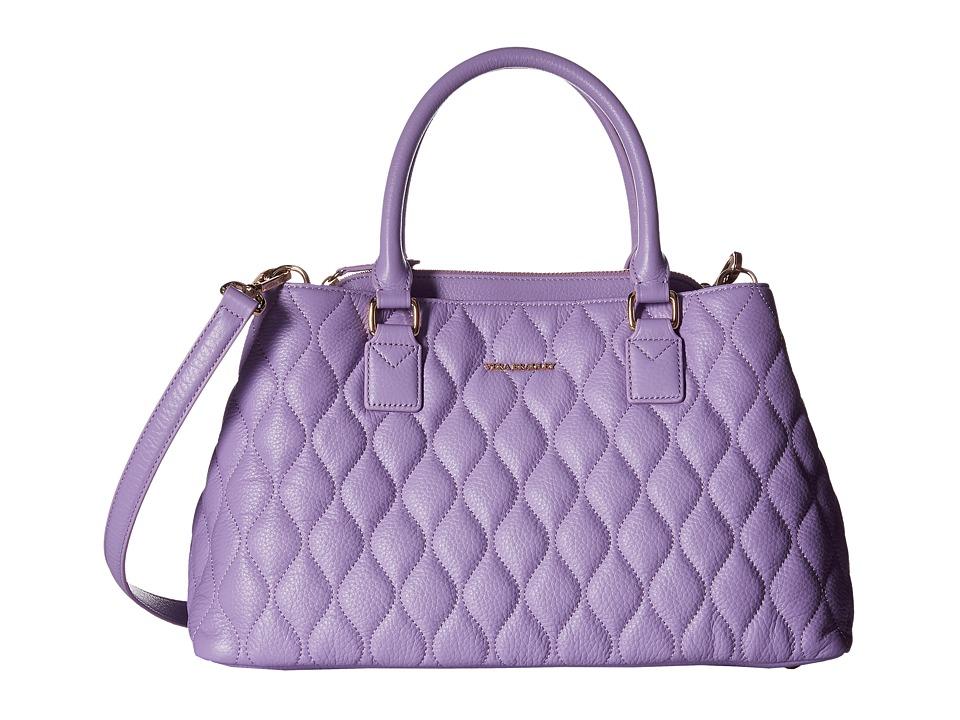 Vera Bradley - Quilted Emma Satchel (Lavender) Satchel Handbags