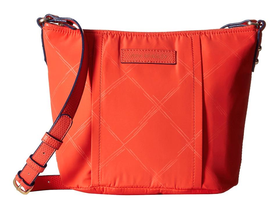 Vera Bradley - Preppy Poly Crossbody (Orange) Cross Body Handbags