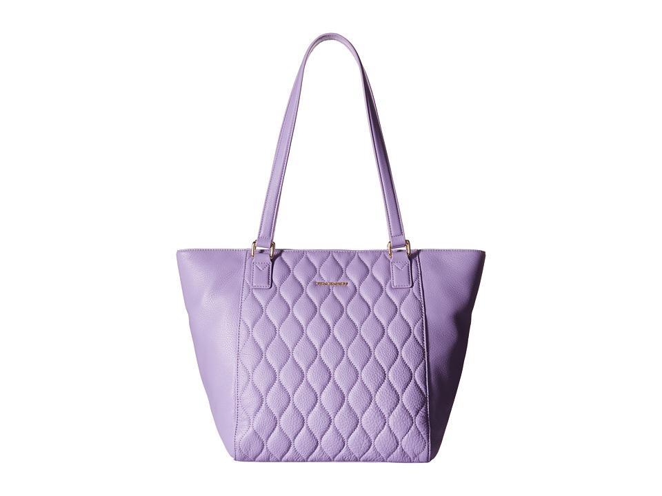 Vera Bradley - Quilted Small Ella Tote (Lavender) Tote Handbags