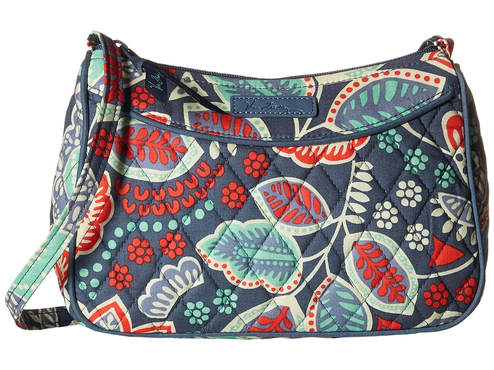 Vera Bradley - Little Crossbody (Nomadic Floral) Cross Body Handbags