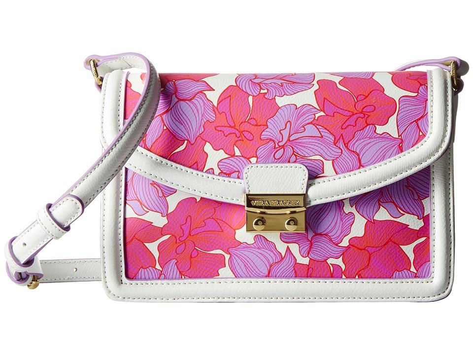 Vera Bradley - Tess Crossbody (Paradise Floral Lilac) Cross Body Handbags