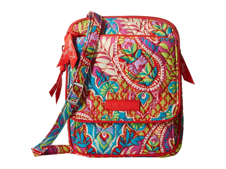 Vera Bradley - Mini Hipster (Paisley in Paradise) Cross Body Handbags