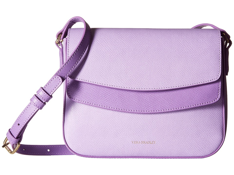 Vera Bradley - Twice As Nice Crossbody (Lilac) Cross Body Handbags