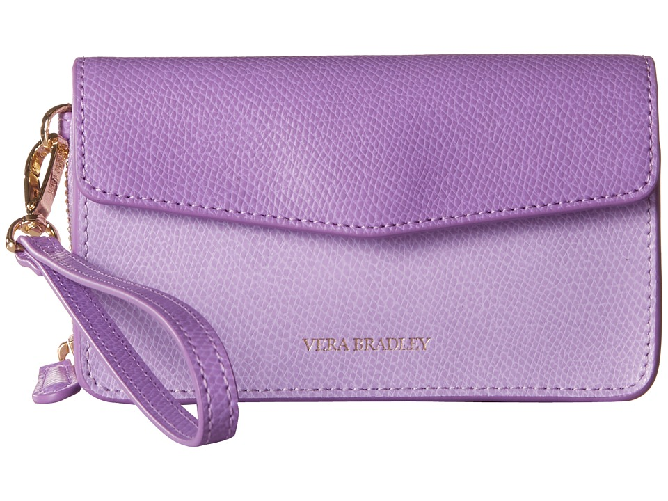 Vera Bradley - Smartphone Wristlet for iPhone 6 (Lilac) Clutch Handbags
