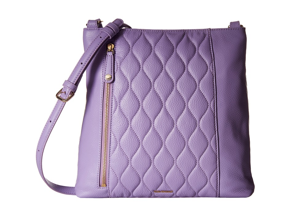 Vera Bradley - Quilted Molly Crossbody (Lavender) Cross Body Handbags