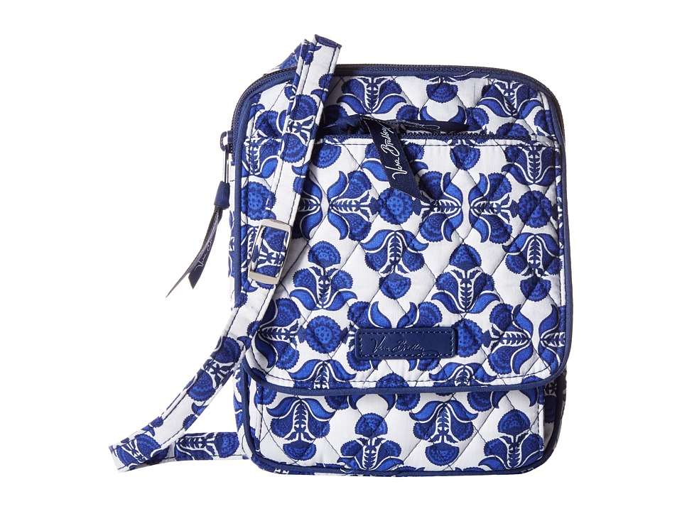 Vera Bradley - Mini Hipster (Cobalt Tile) Cross Body Handbags