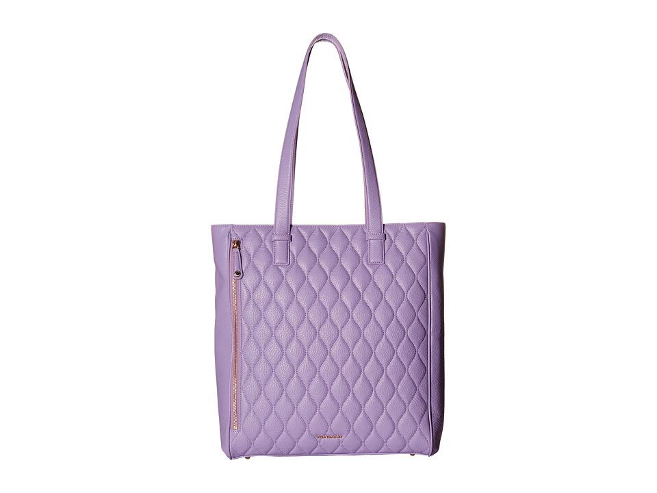 Vera Bradley - Quilted Leah Tote (Lavender) Tote Handbags