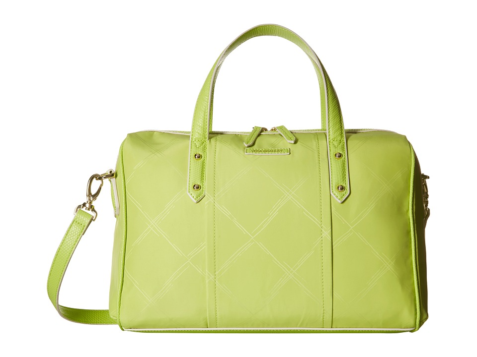 Vera Bradley - Preppy Poly Marlo Satchel (Citrine) Satchel Handbags