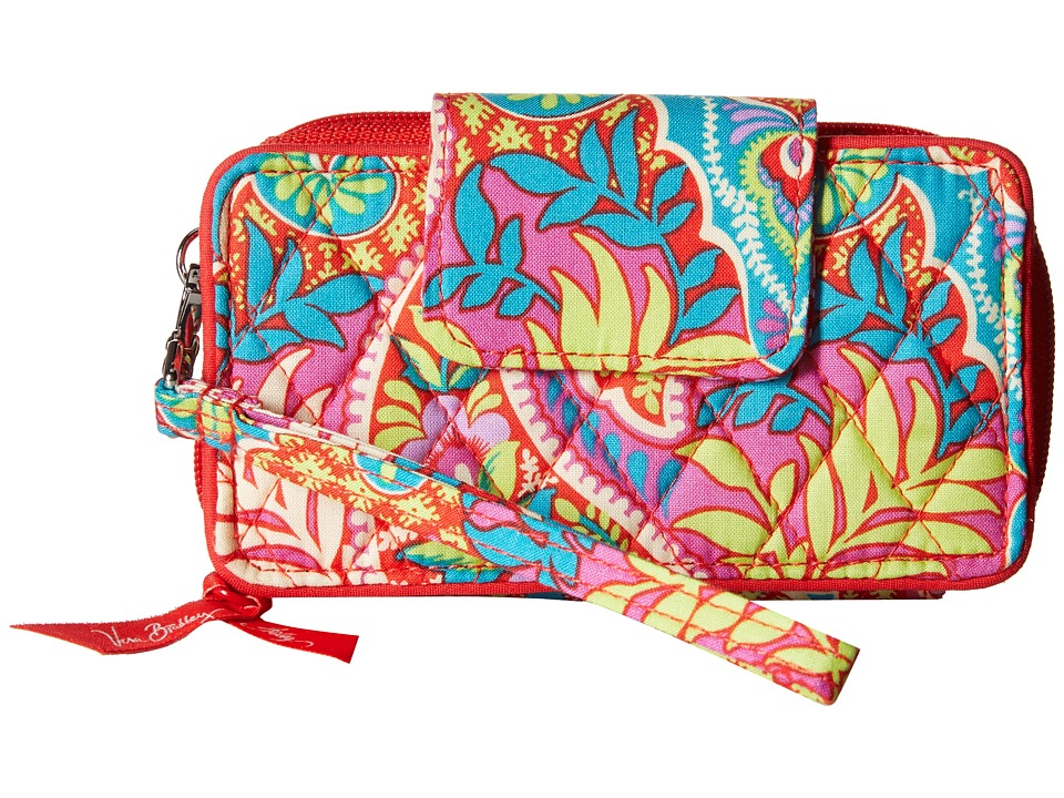 Vera Bradley - Smartphone Wristlet for iPhone 6 (Paisley in Paradise) Clutch Handbags