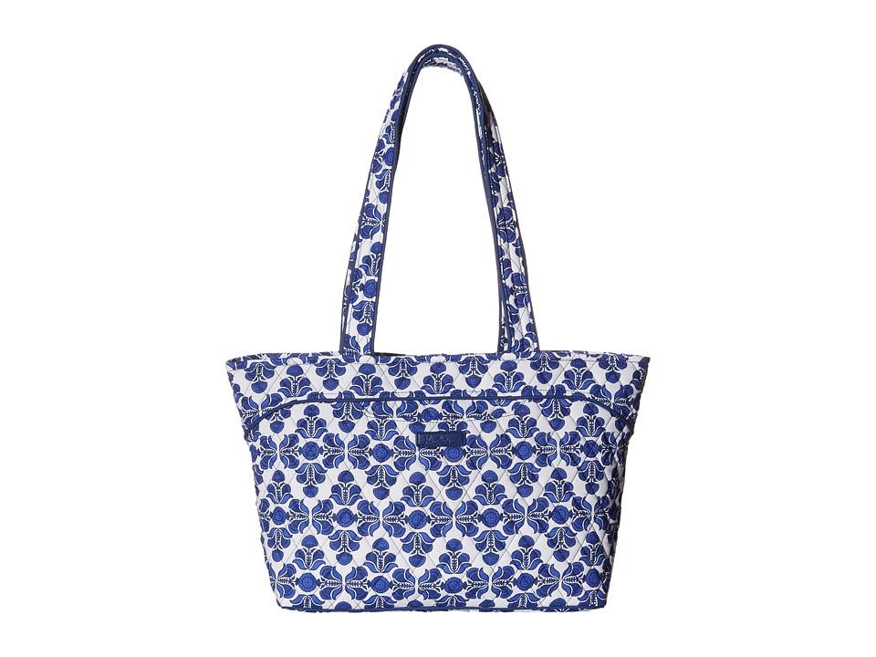 Vera Bradley - Mandy (Cobalt Tile) Tote Handbags