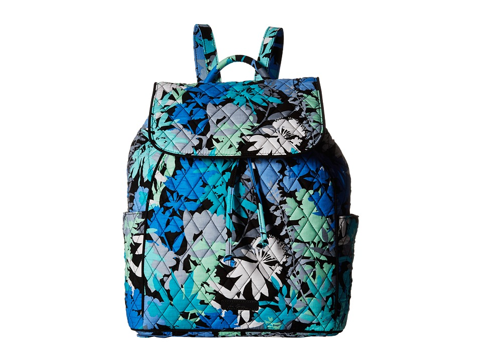 Vera Bradley - Drawstring Backpack (Camofloral) Backpack Bags