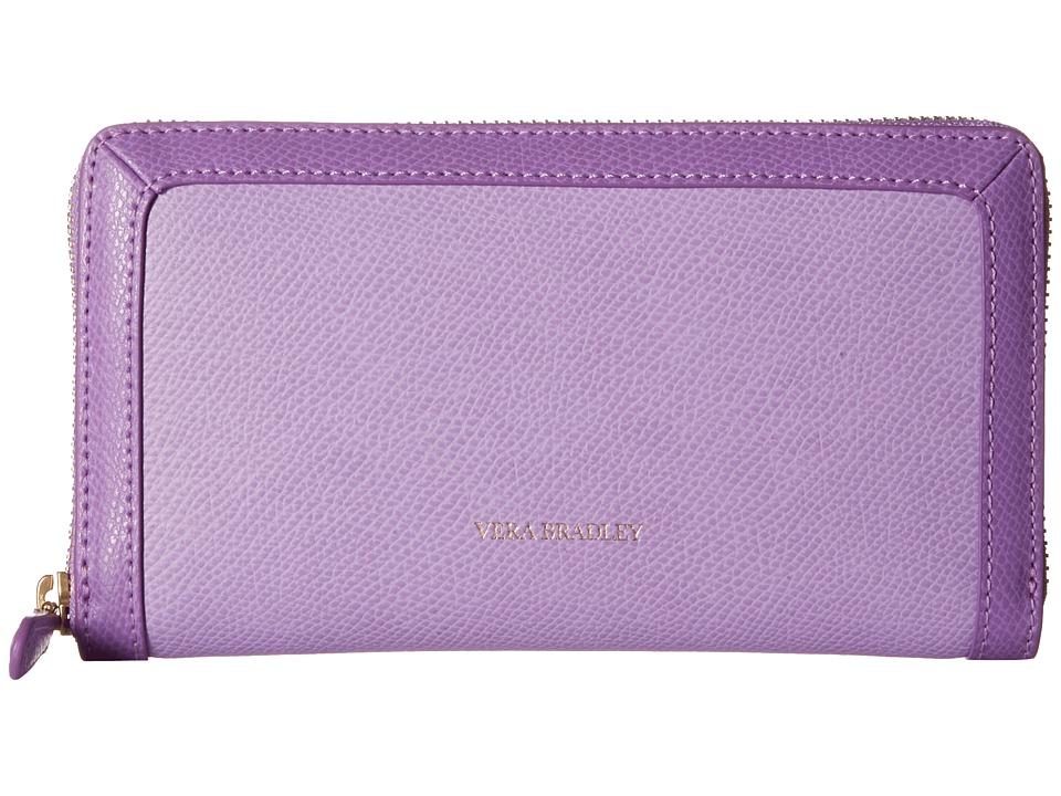 Vera Bradley - Georgia Wallet (Lilac) Wallet Handbags