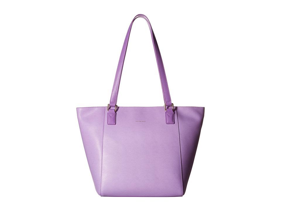 Vera Bradley - Small Ella Tote (Lilac) Tote Handbags
