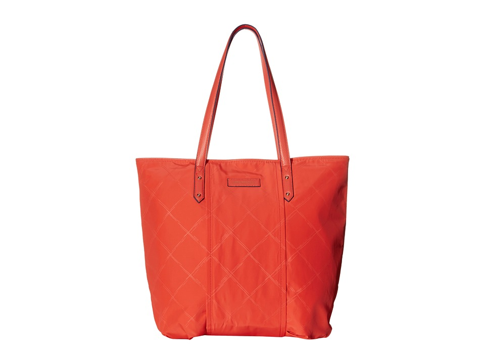 Vera Bradley - Preppy Poly Tote (Orange) Tote Handbags