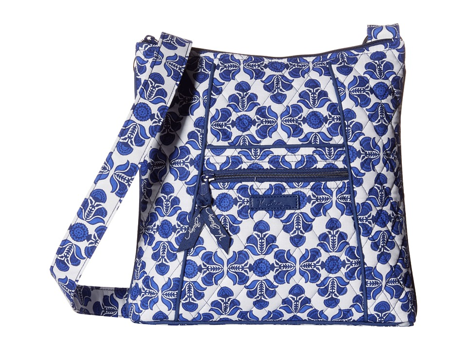 Vera Bradley - Hipster (Cobalt Tile) Cross Body Handbags