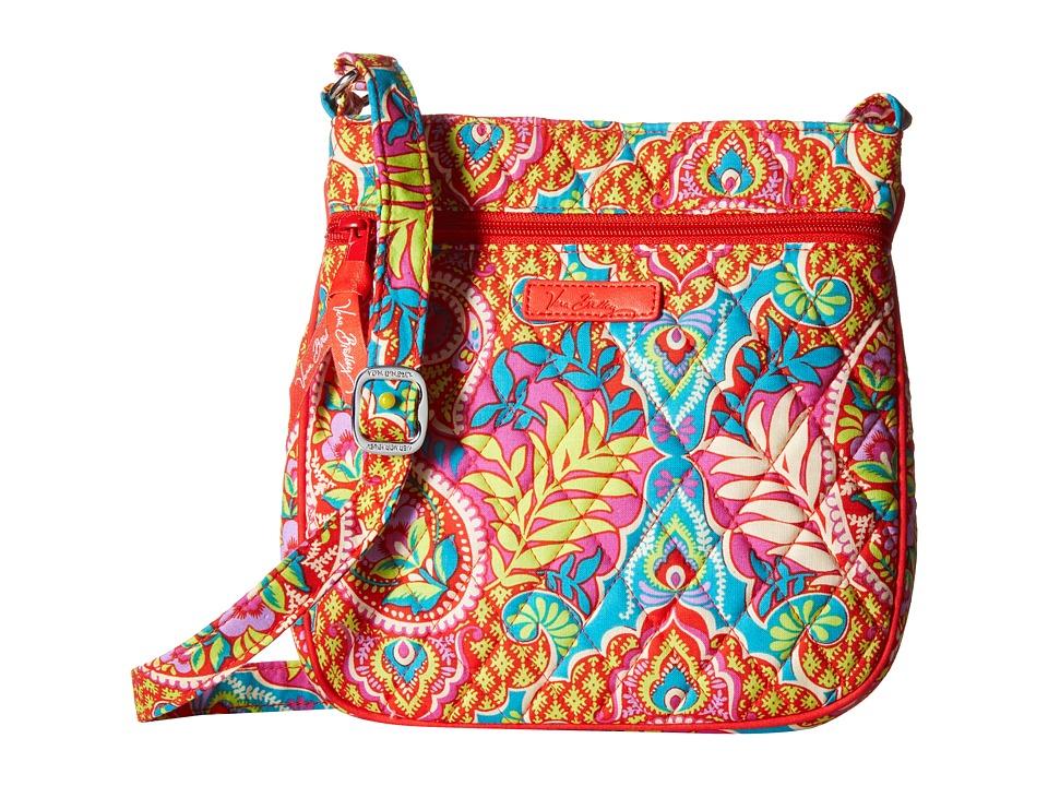 Vera Bradley - Petite Double Zip Hipster (Paisley in Paradise) Handbags