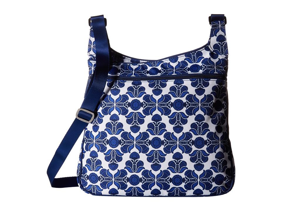 Vera Bradley - Lighten Up Slim Crossbody (Cobalt Tile) Cross Body Handbags