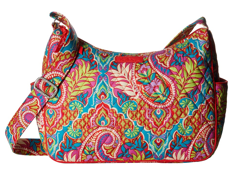 Vera Bradley - On the Go (Paisley in Paradise) Cross Body Handbags