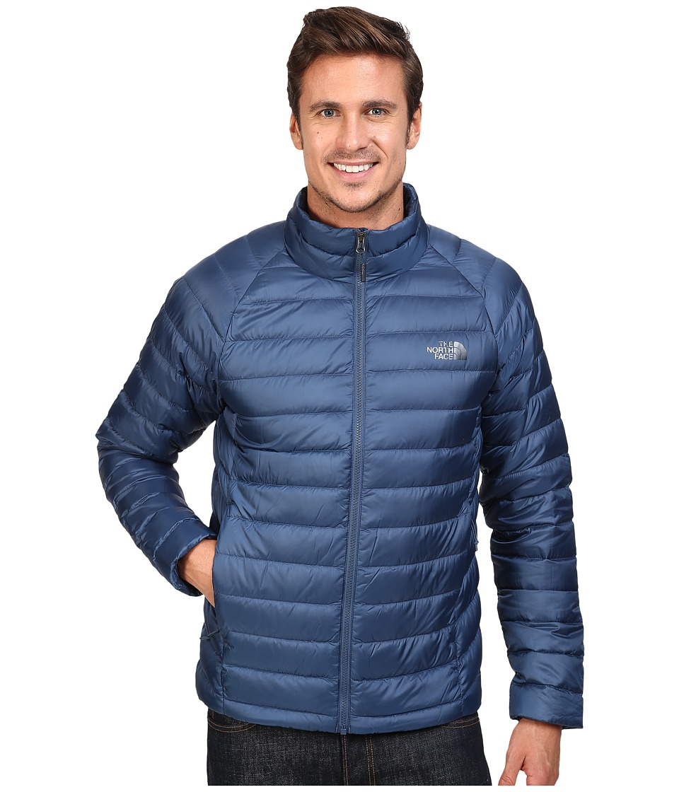 The North Face - Trevail Jacket (Shady Blue) Men's Coat