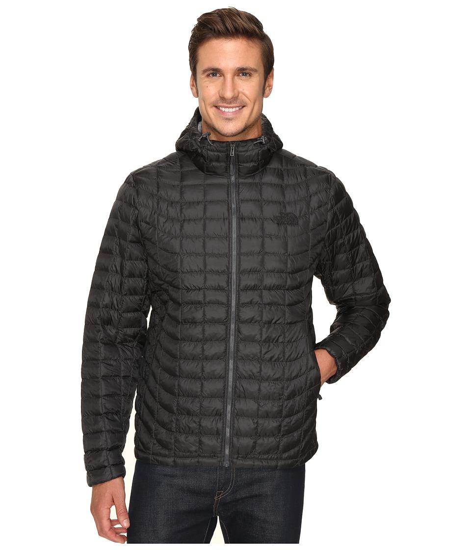 The North Face - ThermoBall Hoodie (Asphalt Grey/Fusebox Grey Process Print) Men's Sweatshirt